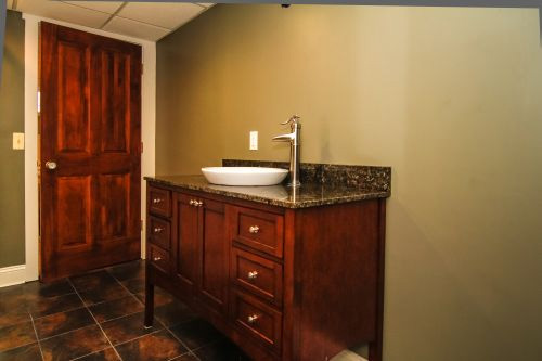 Bathroom Remodeling Contractor Novi MI - Home Improvement | MJR Services - basement1
