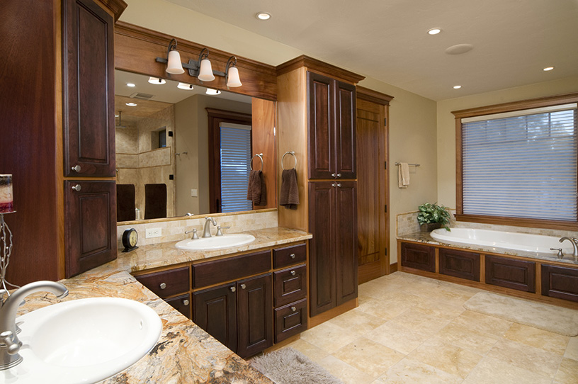 Remodeling Contractors Milford MI - Kitchen, Bath, Basement Renovation | MJR Services - lux-bath