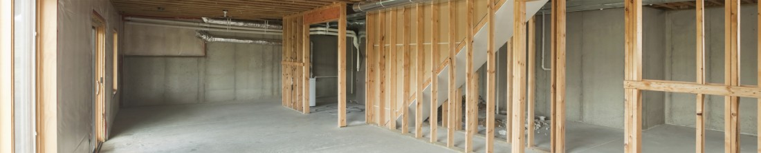 Basement Remodeling Contractor Rochester Hills MI - MJR Services - strip-building