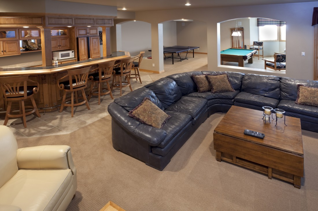 Finished Basement Remodeling Contractor Farmington Hills MI  - iStock_000010912903_Large